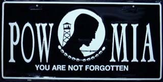 You Are Not Forgotten - POW MIA