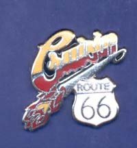 Route 66 Cruisin Hat Pin