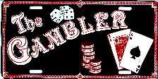 The Gambler License Plates